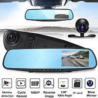 Видеорегистратор Зеркало на 2 камеры Car DVR Mirror L9000 Full HD 1080P , фото 1