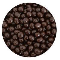 """Посыпка """"Рисовые шарики (темные) 3-4мм."""", 50 гр."""