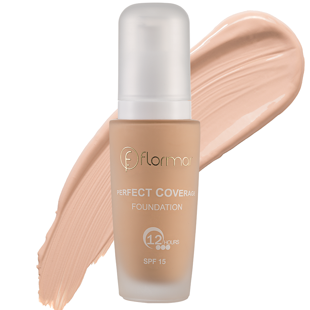 Тональна основа Flormar PERFECT COVERAGE FOUNDATION 106 Classic Ivory 30 мл (2742306)