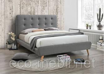 Двоспальне ліжко з мякою оббивкою Tiffany 160 Signal