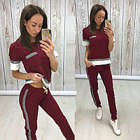 Женский спортивный костюм с коротким рукавом мод.549, фото 1