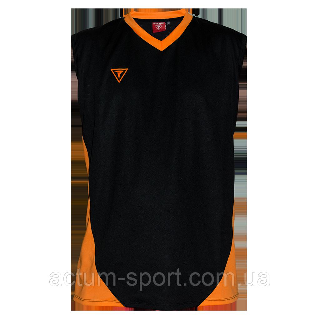 Волейбольная майка Triumph Titar черно/оранж
