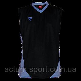 Волейбольная майка Triumph Titar черно/голуб