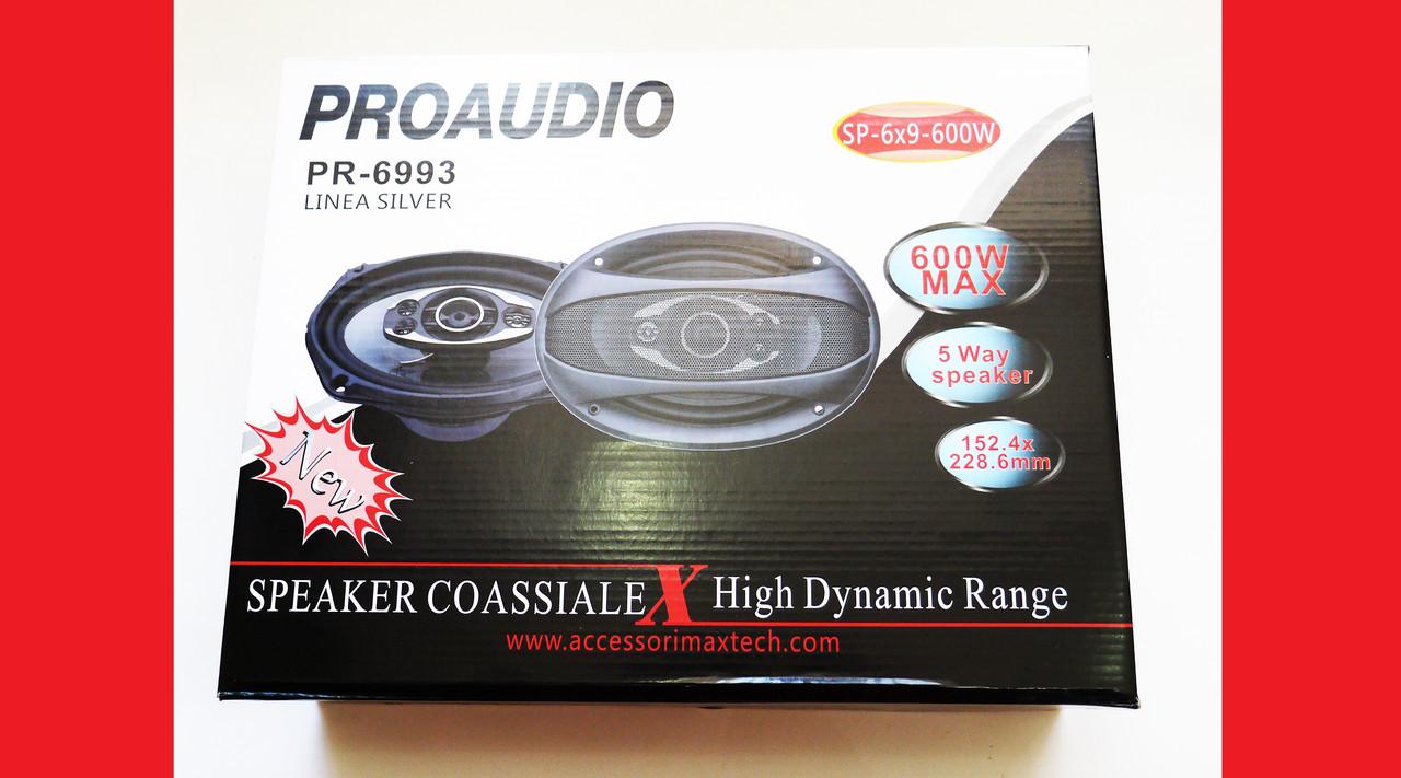 6х9  Proaudio PR-6993 600W двухполосные