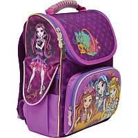 Ранец (рюкзак) - каркасный школьныйдля девочки Эвер Афтер Хай, H-11 EAH purple, 1 вересня 552761