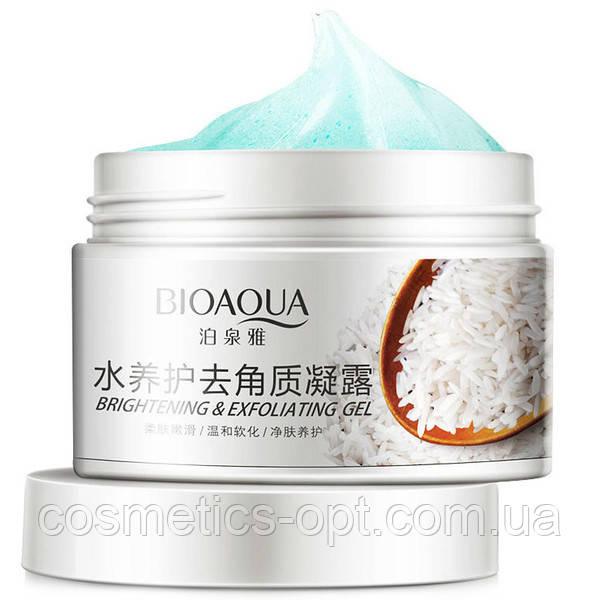 Пилинг-скатка для лица Bioaqua Brightening & Exfolianting Gel, 140 г