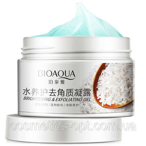 Пилинг-скатка для лица Bioaqua Brightening & Exfolianting Gel