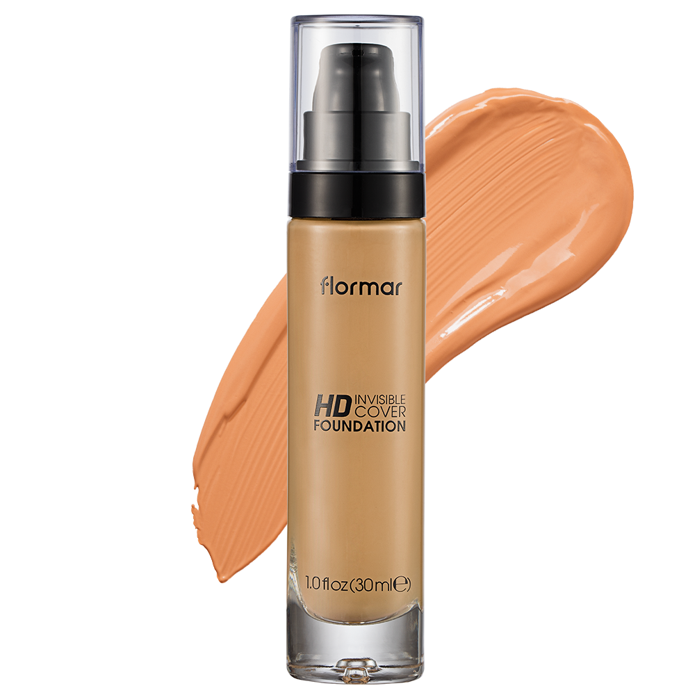 Тональний крем  Flormar INVISIBLE COVER 40 Light Ivory 30 мл (2742402)