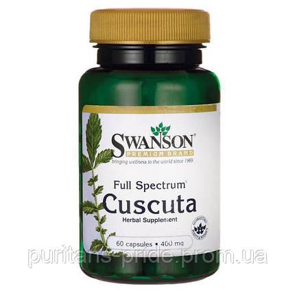 Повилика, Swanson Full Spectrum Cuscuta 400 мг, 60 капсул, фото 2