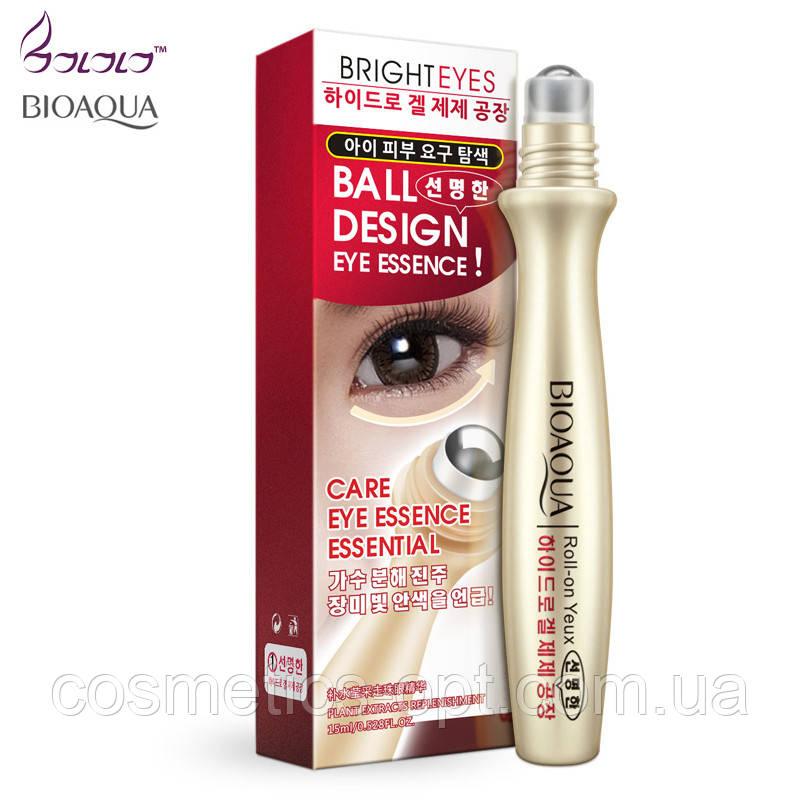 Сыворотка-роллер для век Bioaqua Bright Eyes