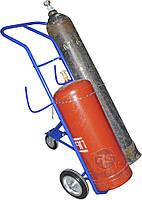 Тележка под два баллона  с держателями для шлангов RR210-B21