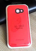 Цветной силиконовый чехол-накладка для Samsung Galaxy A5 2017 / A520