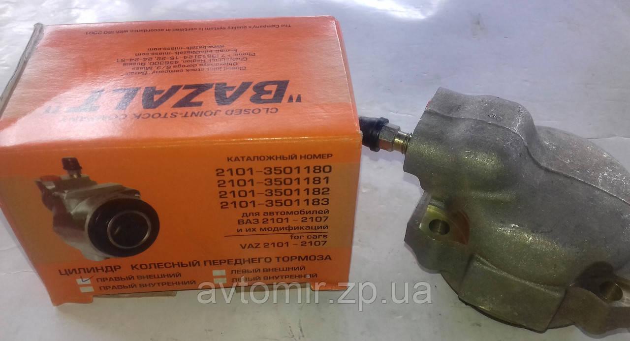 Передний тормозной цилиндр наружный правый ваз 2101-2107