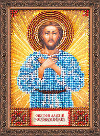 Набор для вышивки бисером икона Святой Алексей