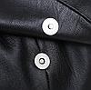 Рюкзак городской черный с клапаном, фото 6