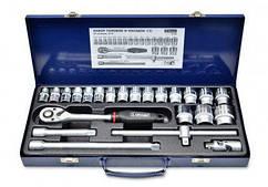 """Набір головок та насадок 1/2""""(10-32 мм),CR-V, Konner 52-240"""