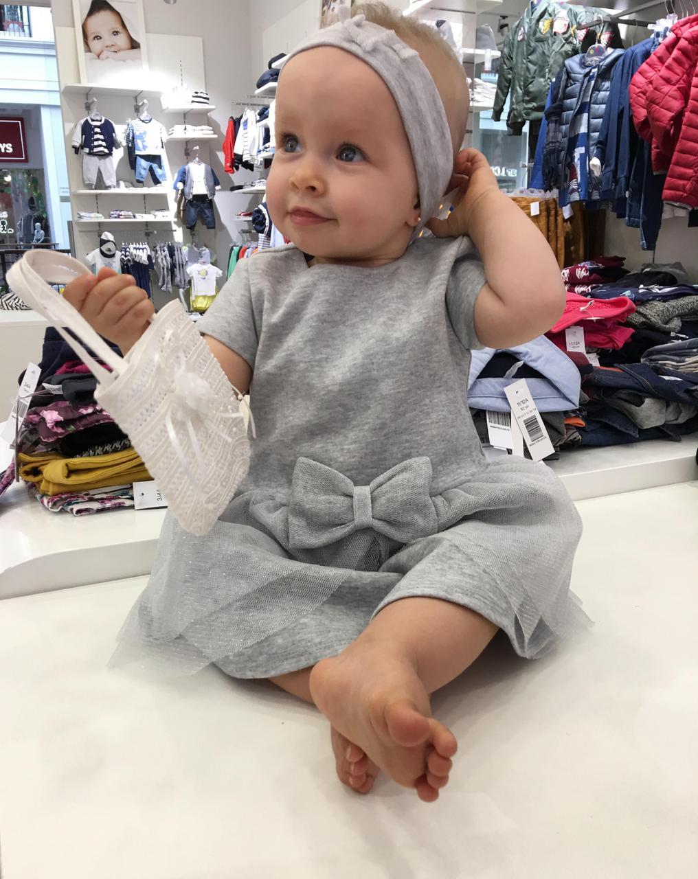 abd77fe1c96 Платье для девочки 9-36 мес.IDEXE - Магазин детской одежды KidexLux в  Харькове