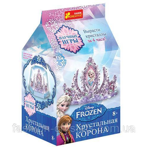 Научный набор для творчества корона Frozen