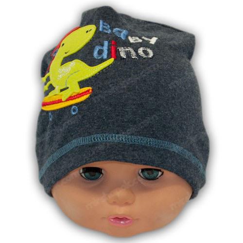 Трикотажная шапка для мальчика