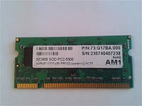 SO-DIMM DDR-II 512M 667 Apacer
