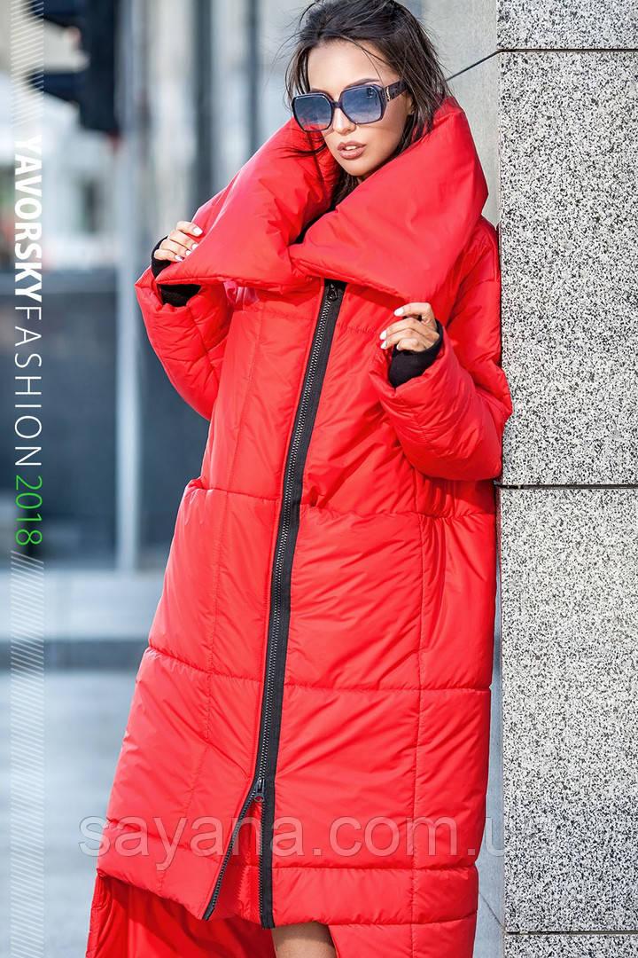 Женское стильное пальто-одеяло «Клайд», в расцветках. ВС-3-0718