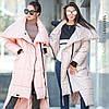 Женское стильное пальто-одеяло «Клайд», в расцветках. ВС-3-0718, фото 5
