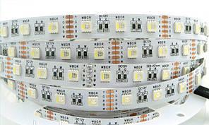 Світлодіодна стрічка SMD 5050 RGBW 60LED/m IP20
