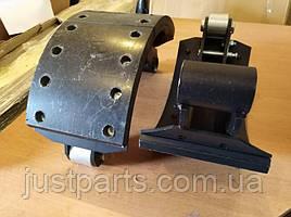 Колодка тормозная МАЗ передняя/задняя левая с накладкой (Автомат) 5336-3501091