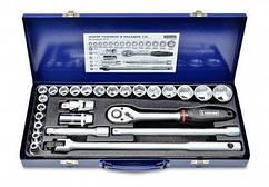 """Набір головок та насадок 1/2""""(8-32 мм),CR-V, Konner 52-250"""