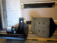 Колодка тормозная МАЗ-5440 задняя правая с накладкой (Автомат) 5440-3502090