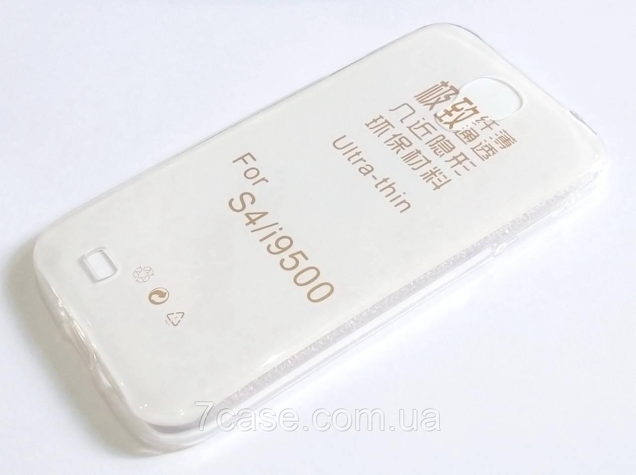 Чохол для Samsung Galaxy S4 i9500 силіконовий ультратонкий прозорий