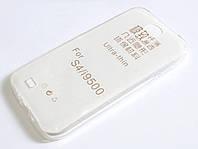 Чехол для Samsung Galaxy S4 i9500 силиконовый ультратонкий прозрачный, фото 1