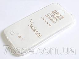Чехол для Samsung Galaxy S4 i9500 силиконовый ультратонкий прозрачный
