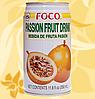 Сок Маракуйя Фоко, Foco, Passionfruit Juice, 350ml , Mo
