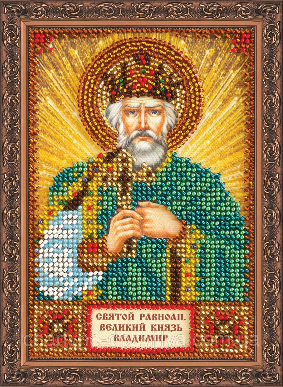 Набор для вышивки бисером икона Святой Владимир