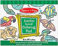 Альбом раскрасок Животные Melissa&Doug (MD14200)