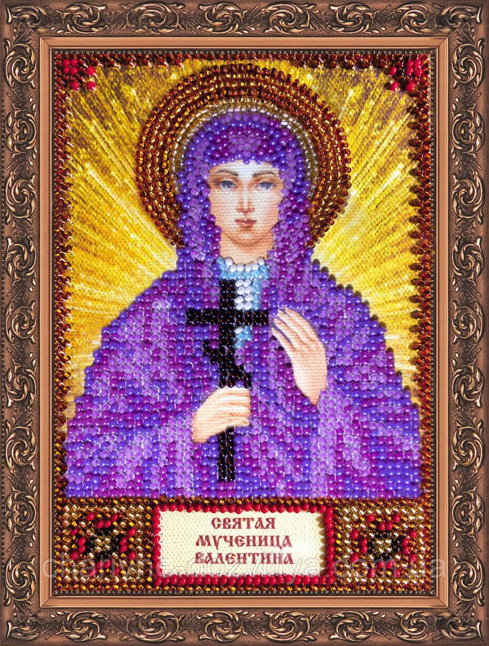 Набор для вышивки бисером икона Святая Валентина