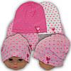 Трикотажная шапка для девочек, р. 46-48