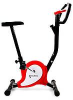 Велотренажер Total Sport Webber Evo (Оранжевый-белый) (механический велотренажер для дома)