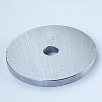 Блин диск для штанги или гантелей 2 кг металлический утяжелитель