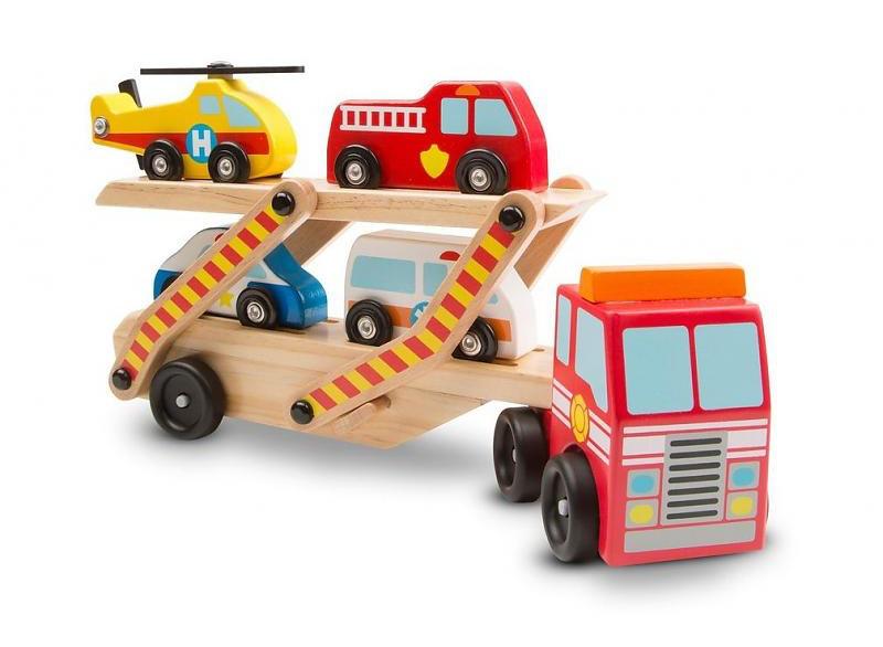 Деревянный аварийный перевозчик-трейлер Melissa & Doug (MD14610)