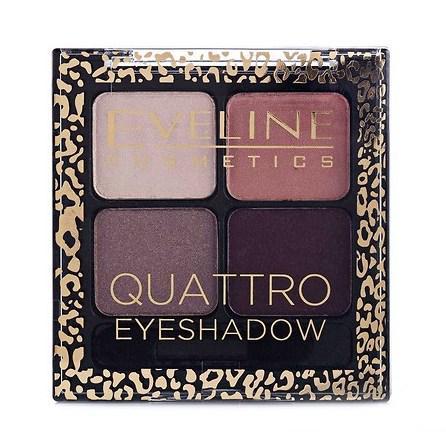 Тени для век Eveline Cosmetics Quattro Eyeshadow тон № 12
