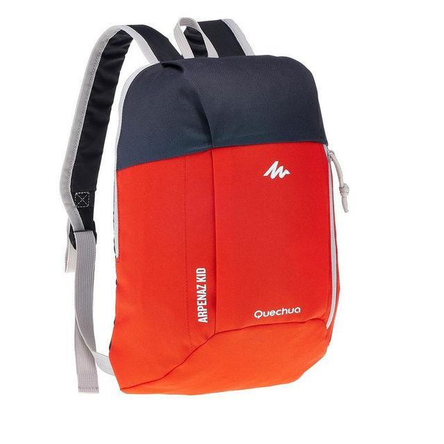 Рюкзак детский Quechua 7л. Цвет красный с черным.