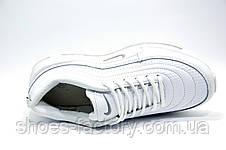 Белые кроссовки в стиле Nike Air Max 97, White, фото 3