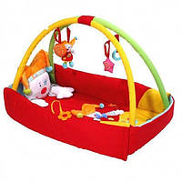 "Детский развивающий коврик Baby Ono ""Клоун"", фото 1"