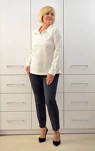 Блуза с запахом по спинке - Модель  1678