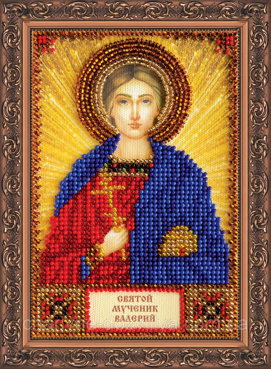 Набор для вышивки бисером икона Святой Валерий