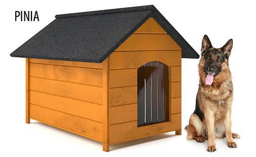 Деревянная будка для собаки, фото 2