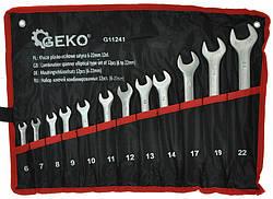 Набор ключей GEKO G11241 6-22 мм 12 шт, фото 2