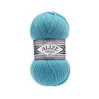 Пряжа Superlana Tig Alize 467 светло - бирюзовый (Суперлана Тиг Ализе)